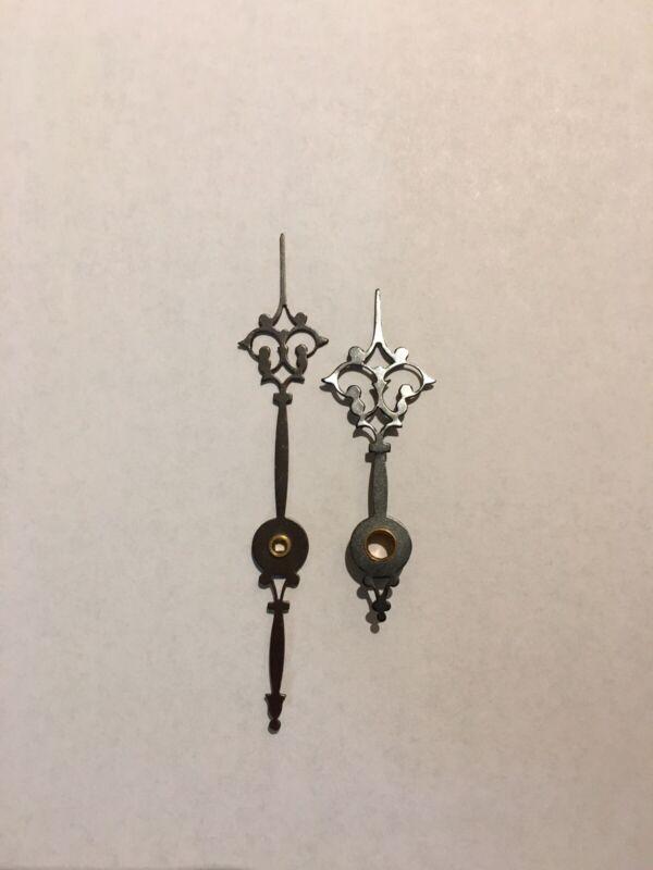 Antique Clock Parts- Vienna Clock Or Gustav Becker Hands New.