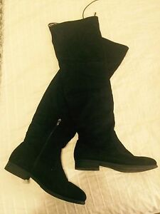 SUEDE KNEE HIGH BOOTS Petersham Marrickville Area Preview
