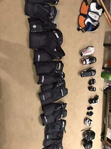 Kids hockey gear all sizes