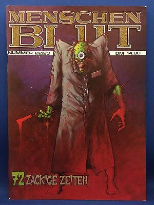 Menschenblut #22/23 (D) Eisenfresser Comics für Erwachsene Adult Erotik