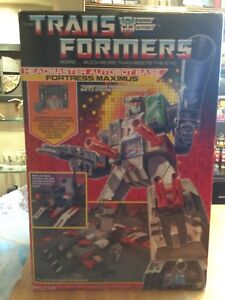 Transformers G1 Boxed Fortress Maximus