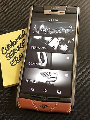 Genuine Brand NEW Vertu Signature Touch Limited Edition Bentley Extremely RARE