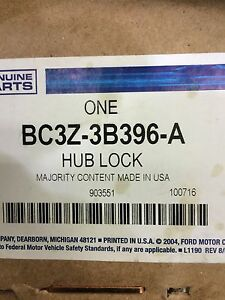 2 Ford hub locks