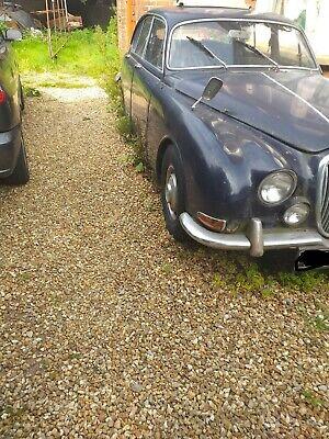 jaguar s type 1968 for restoration starts and runs