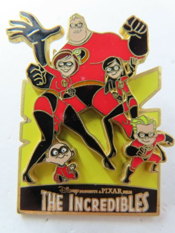 Disney Pin The Incredibles Collection (The Family) #33230