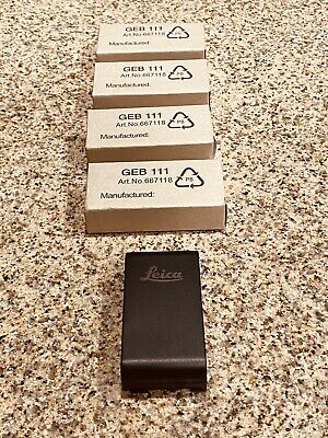 Leica Geb111 Battery For Leica Tcr405 Tcr407 Tcr805 Tcr705