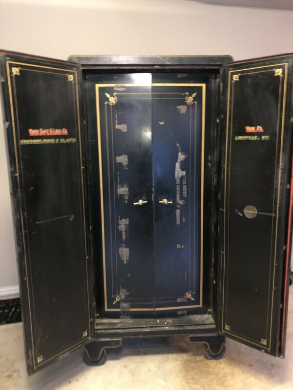 1900s York Vintage Antique Safe combination lock