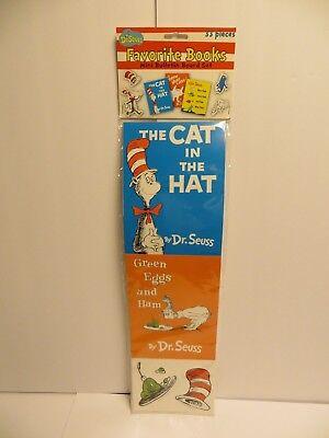 Dr. Seuss Favorite Books Mini Bulletin Board Set 33 Pieces School Party Decorate - Dr Seuss Mini Books