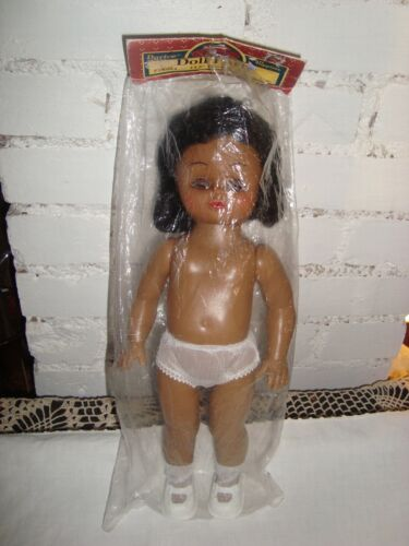 "Vintage Darice Undressed 13.5"" Plastic Doll Craft"