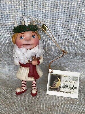 Debra Schoch Christmas Ornament Whimsical Holiday Folk Art