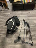 Left handed golf set make offer