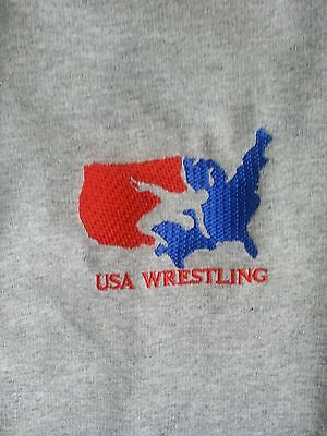 30b9bdd6ab0 New Embroidery Wrestling Sweat Pants for Youth and Adults