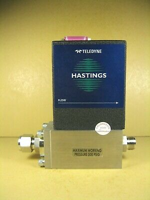 Hastings Teledyne Hfm-d-301 Mass Flow Controller 200 Slpmn2