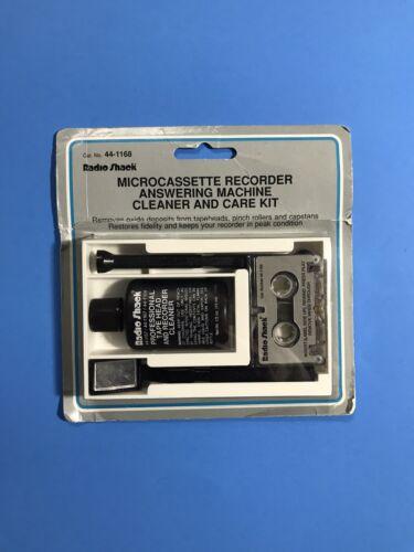 Radio Shack Micocassette Recorder Answering Machine Cleaner