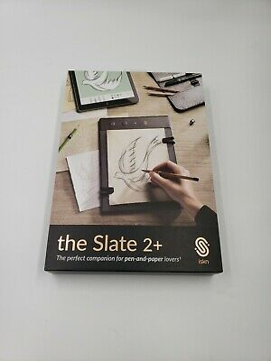 ISKN The Slate 2+ Pencil, Ring, & Paper Graphic Tablet and extras, used for sale  Shipping to India
