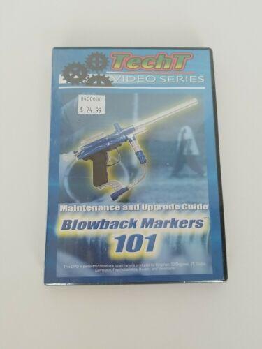 TECH T VIDEO SERIES, Blowback Markers 101 Paintball maintenance (dvd)