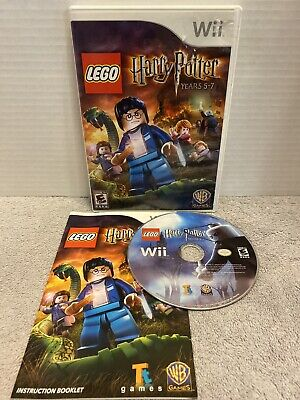 LEGO Harry Potter: Years 5-7 (Nintendo Wii, 2011) Complete Tested Funk Kids E10+
