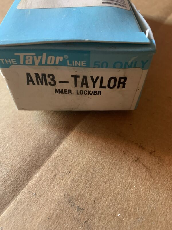THE TAYLOR LINE 50 KEY BLANKS AM3-TAYLOR LOT OF 50