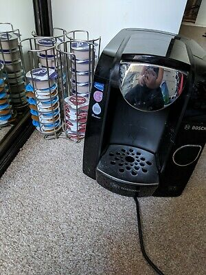 Bosch Tassimo Coffee Machine with Pod Holder and Pods
