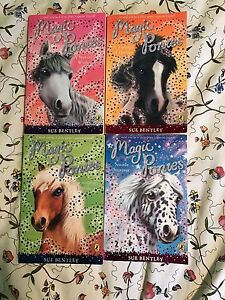 Magic Ponies # 2,3,4 & 5 books