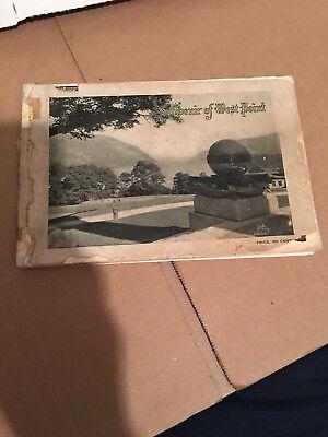 Souvenir of West Point New York - 1900 Photo Tourist Booklet