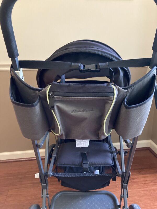 Eddie Bauer Waist or Stroller Bag Organizer Belt Baby Bag Kangaroo Gray