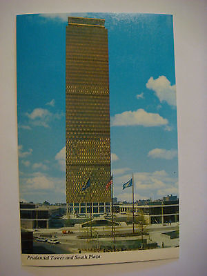 1970s POSTCARD: Prudential Tower and South Plaza ~ New Boston, MASSACHUSETTS