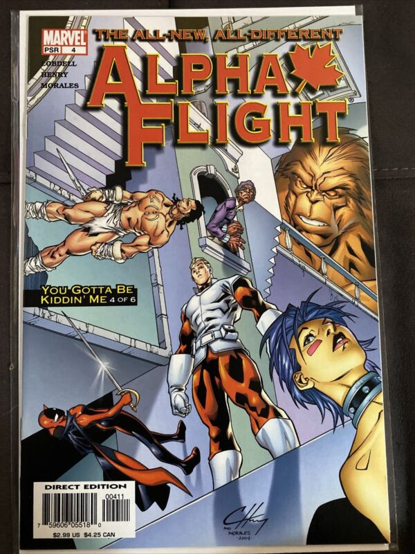 Alpha Flight #4 (2004)