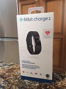 Fitbit charge new and sealed in box