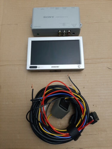 """Sony XVM-H65 6.5"""" monitor + XA-113 Connection Box and Power Monitor Wire Harness"""