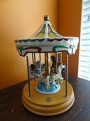IDEO Tobin Fraley Willitts LIMITED ED Horse Carousel Merry Go Round Waltz Music