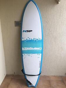 PRACTICALLY NEW NSP SURFBOARD Bundall Gold Coast City Preview