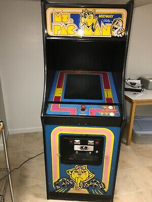 ORIGINAL MS PACMAN ARCADE MACHINE