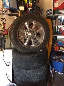 8 bolt rims and tires  22inch