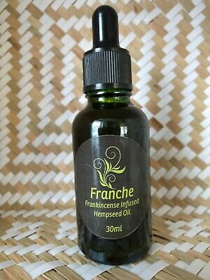 Frankincense Infused Hemp Seed Oil Face and Body Oil 100% natural 30ml