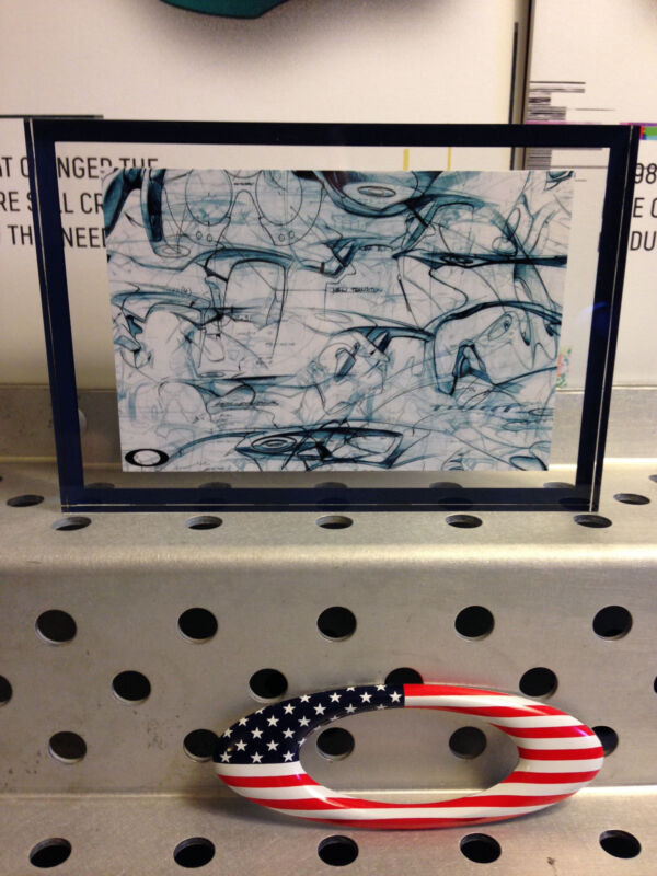 Oakley Sketch Double Sided Acrylic display (Very Nice!!!)