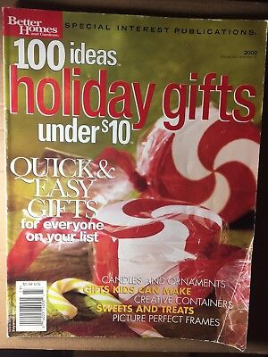Better Homes & Gardens - 100 Ideas - Holiday Gifts Under $10 - December