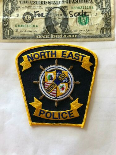 North East Pennsylvania Police Patch un-sewn in mint shape