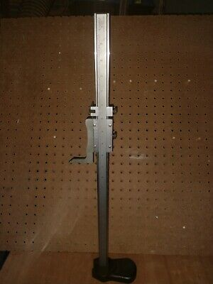 Starrett No. 255 20 Vernier Height Gage