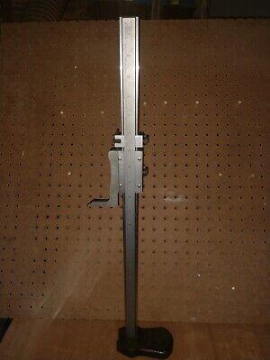 Starrett No. 255 20 Vernier Height Gage