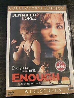 ENOUGH DVD - JENNIFER LOPEZ