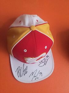 Calgary Flames Signed Hat