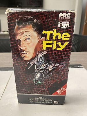 THE FLY  - BETA RARE - 1958 Vincent Price HORROR CBS/FOX (Not Vhs)