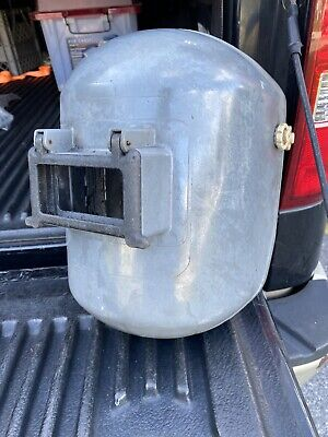 Vintage Fibre-metal Hard Plastic Welding Mask Steampunk Hard Hat Fc3