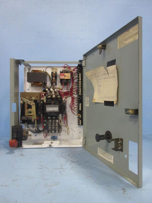"General Electric GE 8000 Size 2 Starter 30 Amp Breaker Type 18"" MCC Bucket 30A"