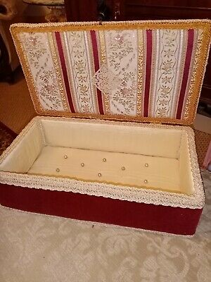 Antique /Vintage style French boudoir box valentine's 14