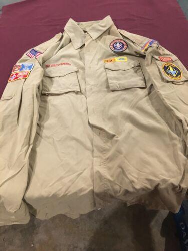 Adult boy scout leader shirt
