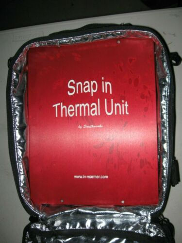Smithworks Snap In IV Warmer Working Power Supply Mobile Carry Case Travel