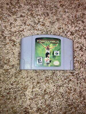 International Track & Field 2000 (Nintendo 64, 1999) Authentic N64 Game