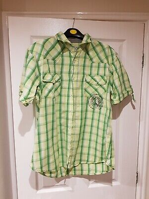 Mens Short Sleeved Shirt Size XL from Burtons